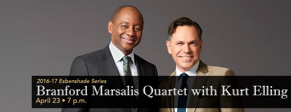 Branford Marsalis Quartet with Kurt Elling