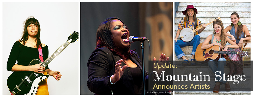 Mountain Stage Announces Artists