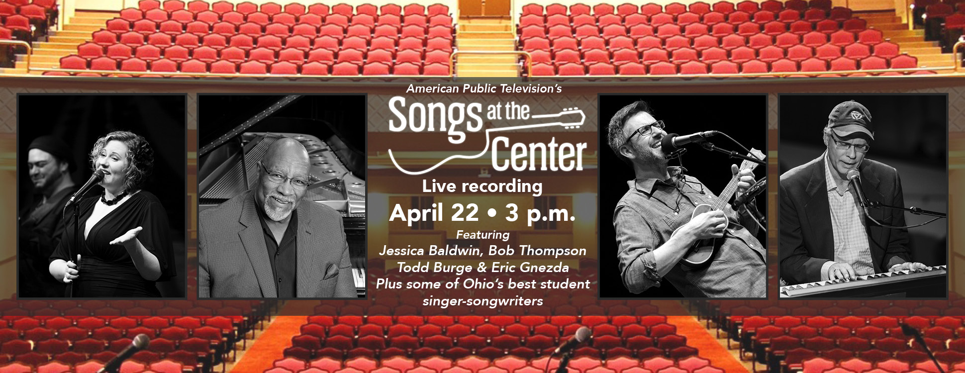 Songs at the Center – Live Taping!